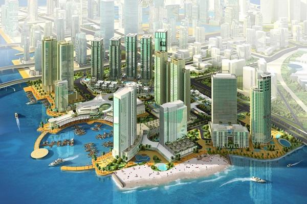 Al Reem Island (artist impression)